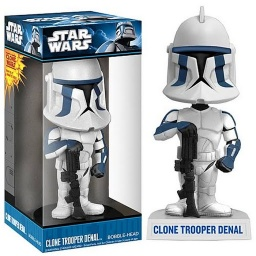 Фигурка Star Wars: Denal Trooper Bobblehead (18 см)