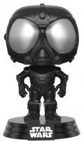 Фигурка Star Wars Rogue One Funko POP: Death Star Droid Black Bobble-Head (9,5 см)