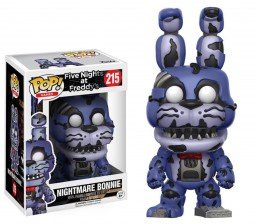 Фигурка Funko POP Games Five Nights at Freddy's: Nightmare Bonnie (9,5 см)