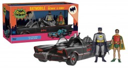 Набор фигурок DC Heroes: Batman Batmobile, Batman & Robin