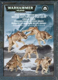 Набор миниатюр Warhammer 40,000. Space Wolves Fenrisian Wolf Pack