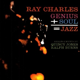 Ray Charles. Genius + Soul = Jazz (LP)