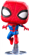 Фигурка Funko POP: Spider-Man Into The Spider-Verse – Peter Parker Bobble-Head (9,5 см)