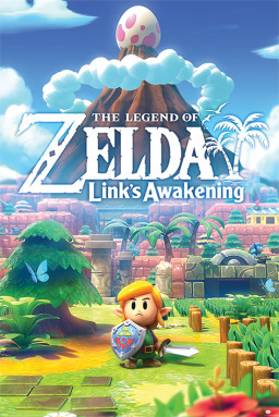 Постер Nintendo: The Legend Of Zelda – Links Awakening