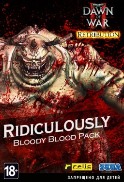Warhammer 40 000. Dawn of War II. Retribution. Набор Ridiculously Bloody Blood Pack [PC, Цифровая версия]