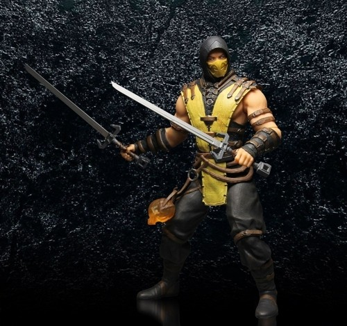 Фигурка Mortal Kombat X. Scorpion (30 см)