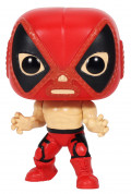 Фигурка Funko POP Marvel: Lucha Libre Edition – El Chimichanga De La Muerte Deadpool Bobble-Head (9,5 см)