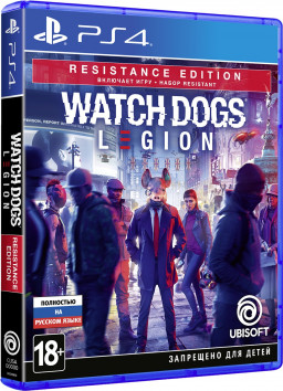 Watch Dogs: Legion. Resistance Edition [PS4]