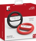 Комплект аксессуаров Speedlink RAPID Racing Wheel Set для Nintendo Switch (black/red)