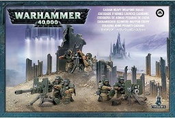 Набор миниатюр Warhammer 40,000 Cadian Heavy Weapon Squad