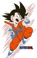 Футболка Dragon Ball: Goku Young (белая)
