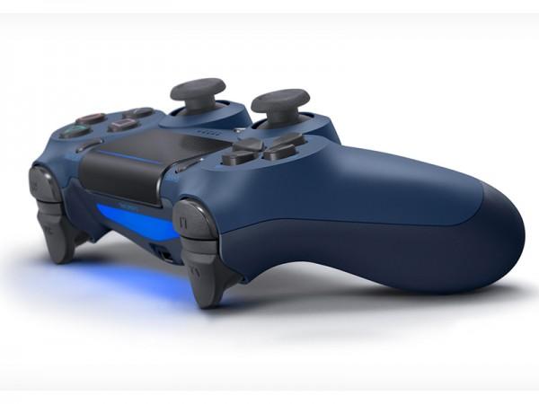 Геймпад DualShock 4 для PS4 беспроводной Midnight Blue (полуночный синий) (CUH-ZCT2E)
