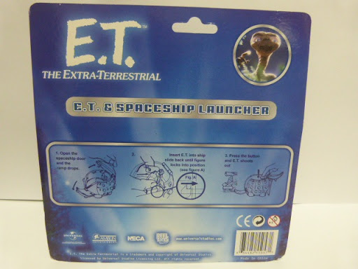Фигурка E.T. Series 1. Rolling Spaceship with Launching E.T. (7 см)