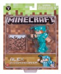 Фигурка Minecraft: Alex in Diamond Armor – Series 3
