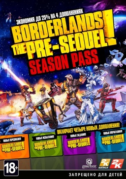 Borderlands: The Pre-Sequel. Season Pass