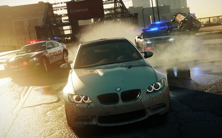 Скриншот из игры Need for Speed: Most Wanted. Limited Edition