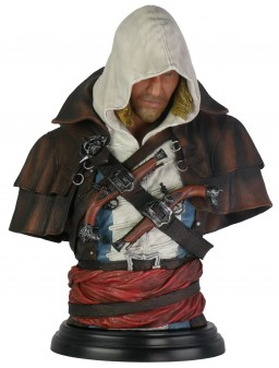 Бюст Assassin's Creed IV Black Flag: Edward Kenway – Legacy Collection (19 см)