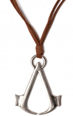 Кулон Assassin's Creed. Brown Necklace With Logo