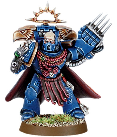 Набор миниатюр Warhammer 40,000 Space Marine Commander