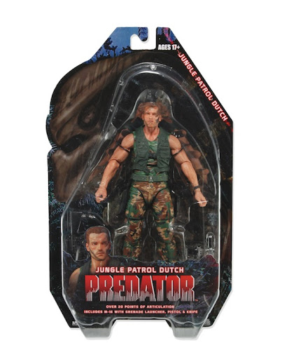 Фигурка Predators Series 8 Patrol Dutch (18 см)
