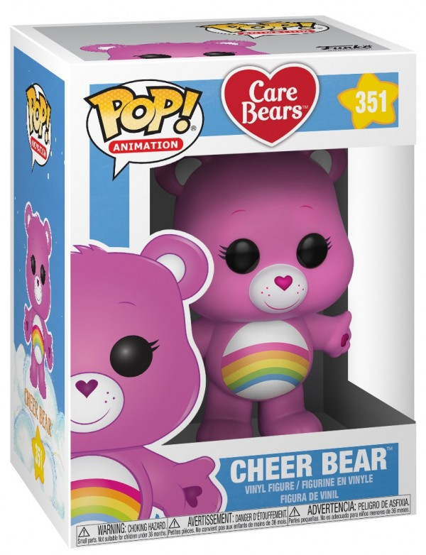 Фигурка Funko POP Animation: Care Bears – Cheer Bear (9,5 см)