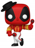 Фигурка Funko POP Marvel: Deadpool 30th – Flamenco Deadpool Bobble-Head (9,5 см)