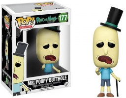 Фигурка Funko POP Animation: Rick & Morty – Mr. Poopy Butthole (9,5 см)