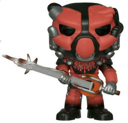 Фигурка Funko POP Games: Fallout 76 – X-01 Power Armor Red (9,5 см)