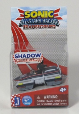 Фигурка Sonic в машине. Sonic All Stars Racing 2. Shadow (4 см)