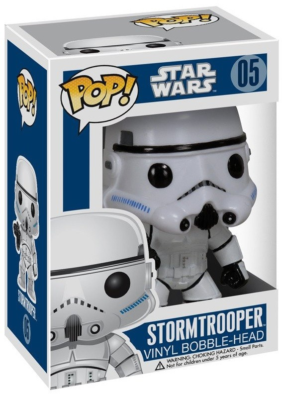 Фигурка Funko POP: Star Wars – Stormtrooper Bobble-Head (9,5 см)