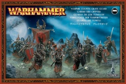 Набор миниатюр Warhammer 40,000. Vampire Counts Grave Guard