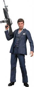 Фигурка Scarface Blue Suit Action fig. with sound (46 см)