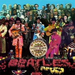 The Beatles. Sgt. Pepper's Lonely Hearts Club Band (LP)