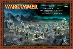 Набор миниатюр Warhammer 40,000. Vampire Counts Crypt Ghouls