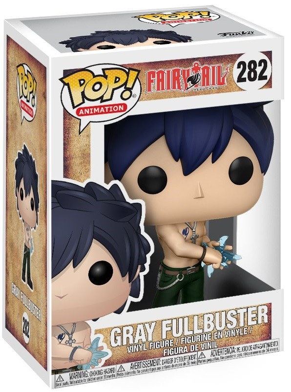 Фигурка Funko POP Animation: Fairy Tail – Gray Fullbuster (9,5 см)
