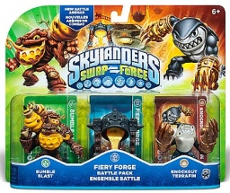 Skylanders. Swap Force. Боевой набор: Bumble Blast, Knockout Terrafin, Fiery Forge [PS3 и Xbox 360]