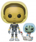Фигурка Funko POP Animation: Rick And Morty – Space Suit Morty With Snake (9,5 см)