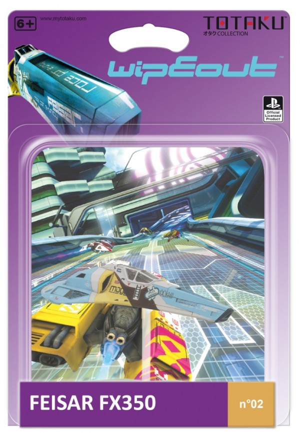 Фигурка TOTAKU Collection: Wipeout – Feiser FX350 Ship (10 см)