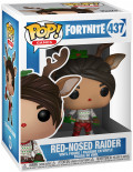 Фигурка Funko POP Games: Fortnite – Red-Nosed Raider (9,5 см)
