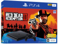 Игровая консоль Sony PlayStation 4 Slim (1TB) Black (CUH-2208B) + игра Red Dead Redemption 2