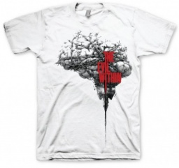 Футболка The Evil Within. Brain (белая) (XL)