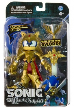 Фигурка Sonic. Excalibur Sonic Glow in the Dark Sword (13 см)