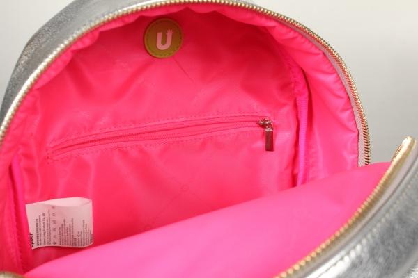 70eeb15db124 Купить Мини рюкзак (Pocker Face Backpack) WY-A020 (Серебряный) из ...