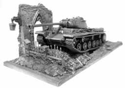 World of Tanks. Модель танка КВ-1С (1:72)