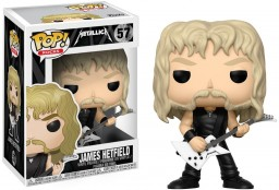 Фигурка Funko POP Rocks: Metallica – James Hetfield (9,5 см)