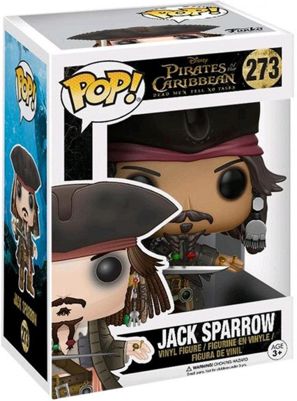 Фигурка Funko POP: Pirates Of The Caribbean Dead Men Tell No Tales – Jack Sparrow (9,5 см)