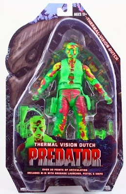Фигурка Predators 7 Series 11 Thermal Dutch Version 2 (18 см)