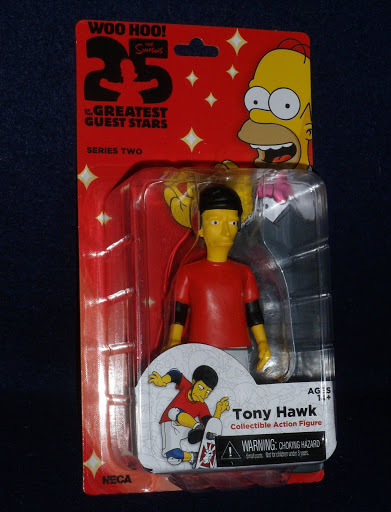 Фигурка The Simpsons Series 2. Tony Hawk (13 см)