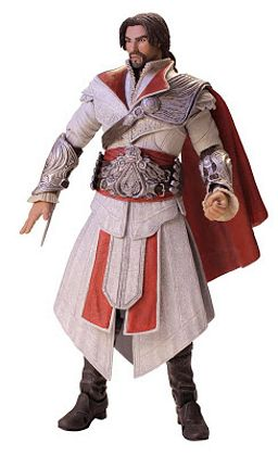 Фигурка Assassin's Creed: Brotherhood. Ezio Ivory Unhooded (18 см)