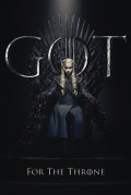 Плакат Game Of Thrones: Daenerys For The Throne (№259)